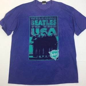 Other - Welcome Beatles to the USA 1964 World Tour Shirt